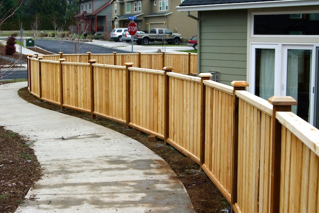 Wood fences quality best fence for 4 foot fence ideas